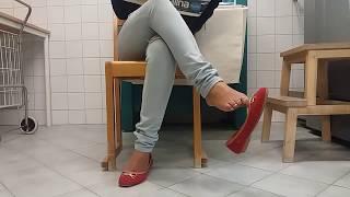 Latina Dangling Flats at Laundry