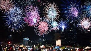 Jakarta - 10000 Fireworks 2017 for New Years Eve | kembang api 2017 | Guntur WIbowo