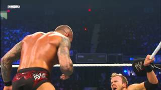 Randy Orton gives Christian a low blow: Money in the Bank 2011