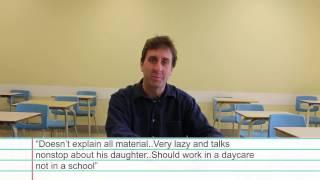 Vanier Teachers Read Mean Ratings Vol.1