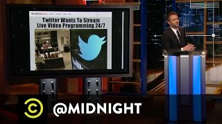 Twittervision - @midnight with Chris Hardwick