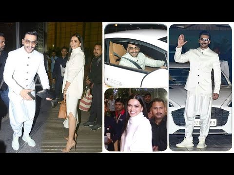 Xxx Mp4 Ranveer Singh Amp Girlfriend Deepika Padukone Leave For Their Royal WEDDING In Italy With Family 3gp Sex