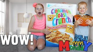 World's Largest Cereal Box & Owen Rushed to the Emergency Room || Mommy Monday