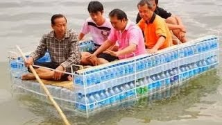 how to make boat from plastic bottle