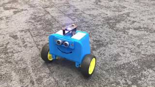 Robot powered by 3D Printed Functional PCB