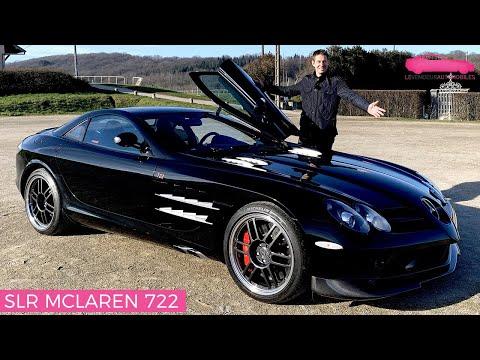 Essai Mercedes SLR McLaren 722 Avec 500 000€ j achète cette voiture Le Vendeur Automobiles