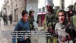 Israeli Crimes against Palestinian Children