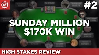 Sunday Million $170k Hand History Review (Part 2)