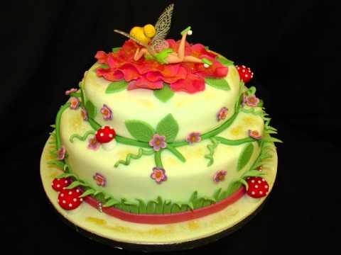 Disney s Tinkerbell Fondant Cake