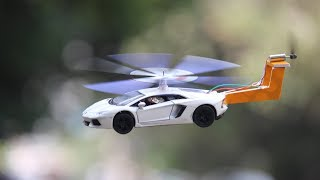 How To Make a Helicopter car - car