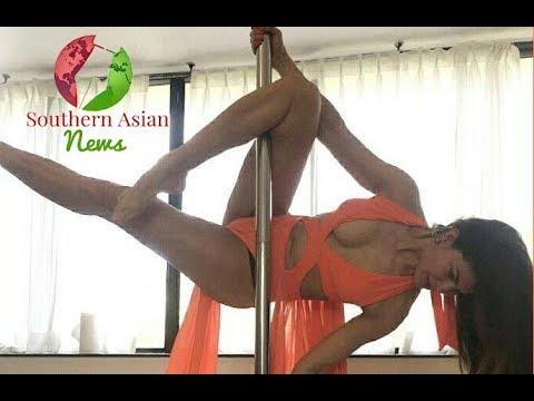 Xxx Mp4 Bollywood SuperStar Jacqueline Fernandez Pole Dance Practice Session 3gp Sex