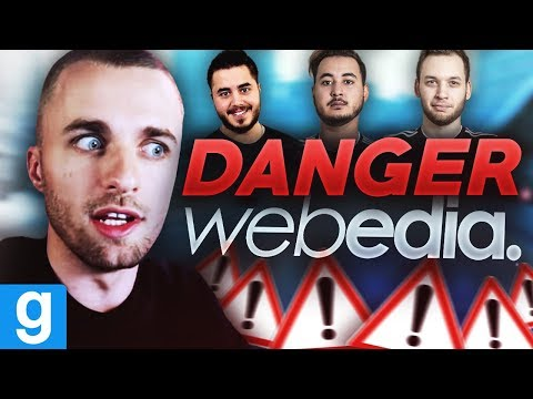 WEBEDIA ET SES DANGERS ⚠️ Deathrun ft. Gotaga Mickalow Doigby