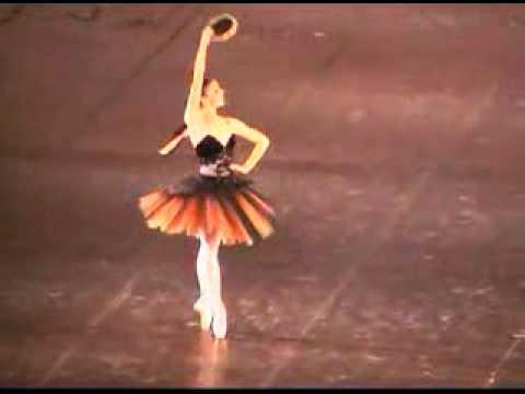 Natalia Osipova at 17 Esmeralda variation Bolshoi Ballet Academy