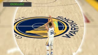 Is It Possible To Get A Green Release Full Court Shot With Steph Curry? NBA 2K18 Challenge