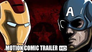 CAPTAIN AMERICA : CIVIL WAR TRAILER Italiano (2016) | Motion Comic Version ITA HD