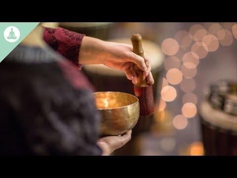 Yoga Meditation Flute Music and Tibetan bowls Positive Energy