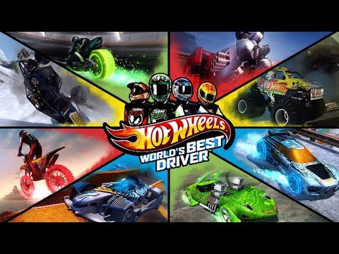 First 30 Minutes Hot Wheels World s Best Driver XBOX360 PS3 WIIU