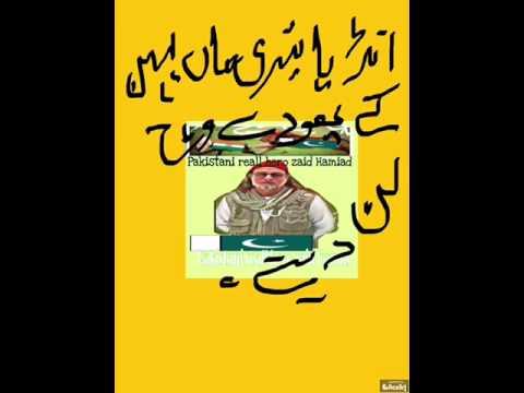 Pakistani reall hero my hero zaid Hamiad