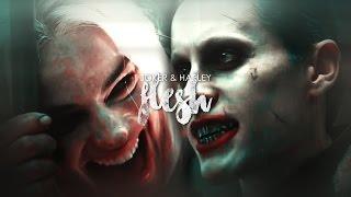 » flesh | joker + harley.