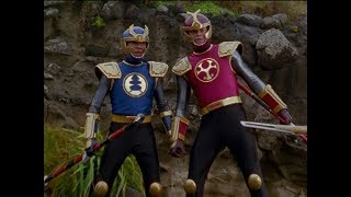 Power Rangers Ninja Storm - Power Rangers vs Thunder Rangers | Episode 11