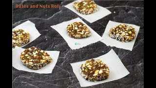 Dates and nuts roll | Diwali Sweets