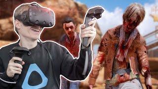 ZOMBIE APOCALYPSE IN VIRTUAL REALITY  | Arizona Sunshine VR (HTC Vive Gameplay)