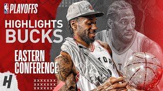Kawhi Leonard Full Series Highlights vs Bucks | 2019 NBA Playoffs ECF