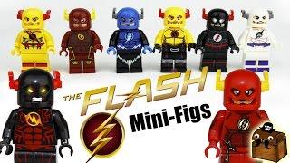 CW Flash Custom LEGO Minifigures 2017