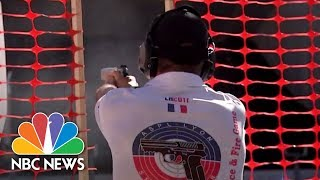 First Responders Go For Gold | NBC News