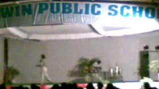 Nagar sir rocking the stage with desi nursery rhymes....!!!!!!! ...........!!!