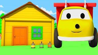 Ethan pinta uma casa e APRENDE CORES ! | Desenho Animado Educativo