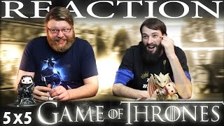 Game of Thrones 5x5 REACTION!!