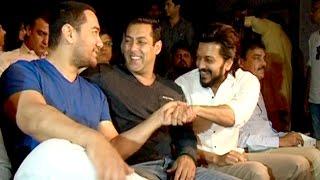 Salman, Aamir Meet Raj Thackeray To Discuss Green Mumbai Development