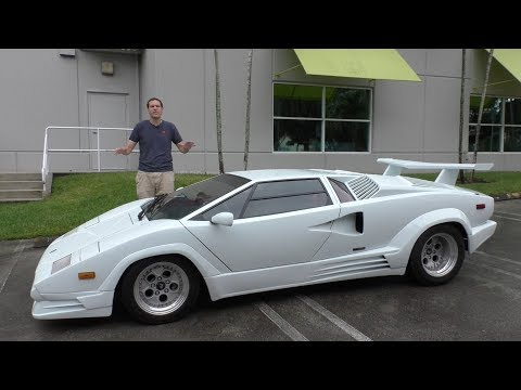 Here s Why the Lamborghini Countach is Worth 300 000