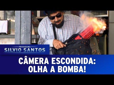 Olha a Bomba!   Câmera Escondida (02/04/17)