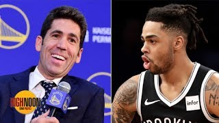 Do you believe the Warriors GM's comments about D'Angelo Russell? | High Noon