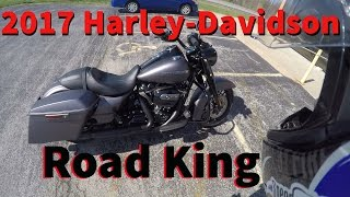 2017 Harley-Davidson Road King Special | First Ride | First time on a big Harley