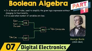 Introduction to Boolean Algebra (Part 1)