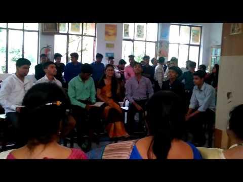 Teacher's Day Performance | Class 12th | 2016 | Bheegi Bheegi Bangla Version