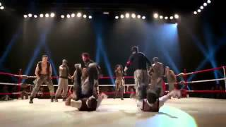 Step Up All In   baile en el ring the mob vs lmtrix