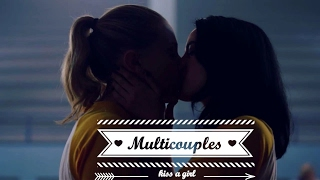 ►MultiLesbian || Kissed A Girl