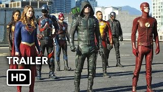 The Flash, Arrow, Supergirl, DC's Legends of Tomorrow 4 Night Crossover Event Extended Promo (HD)