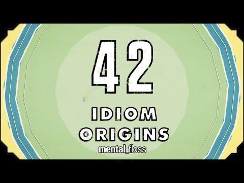 watch 42 Idiom Origins - mental_floss on YouTube (Ep. 29)
