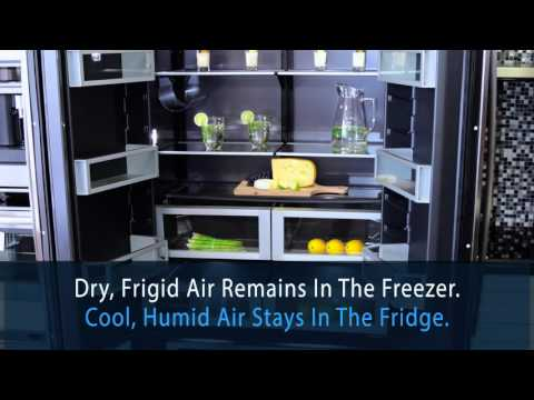 Jenn-Air 42-inch Built-in French Door Refrigerator (JF42NXFXDE) - Tasco Product Showcase
