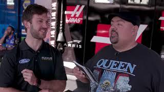 Quizzing Drivers At Sonoma Raceway | Gabriel Iglesias