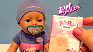 Zapf Creations Baby Born Boy Doll Unboxing