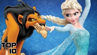 Top 10 Most Hated Disney Characters