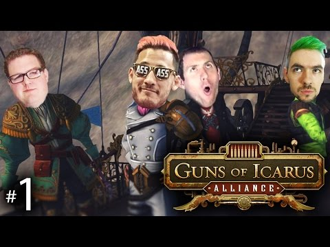 OH THE HUMANITY Guns of Icarus Alliance w Mark Wade and Jack Ep. 1
