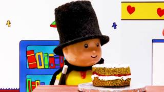 Caillou the cake master   Funny Animated cartoons Kids   Caillou Stop Motion   Cartoon movie