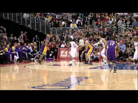 #00 at Clippers (Preseason) - Pau Gasol Video Project 2012